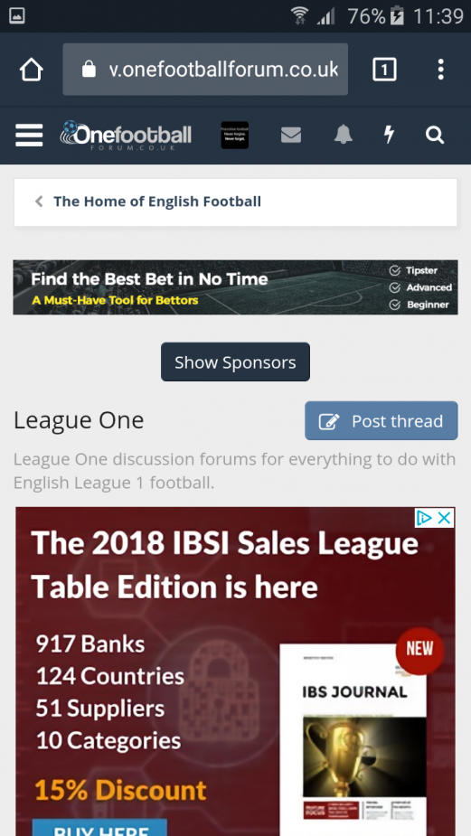 Sudden appearance of ads    | Football Forums - UK